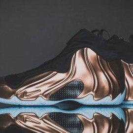 Nike - NIKE AIR FLIGHTPOSITE 2014 PREMIUM COPPER/BLACK