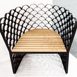 Jarrod Lim - Koi lounge chair
