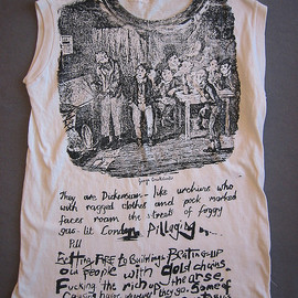Seditionaries - 'OLIVER TWIST' T Shirts Designed by Vivienne Westwood & Malcolm McLaren