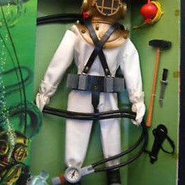 Hasbro - VINTAGE 1965 G.I. Joe Action Sailor DEEP SEA DIVER NRFB HTF 7620 Hasbro