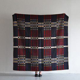 Horse Blanket Research - Jacquard (Navy x Red)