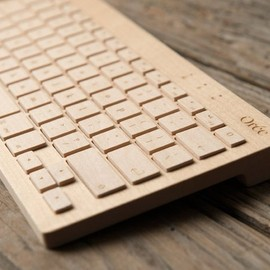 Oree - Wireless Wooden Keyboard