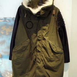 YEAH RIGHT!! - M-51 FIELD STUDS COAT