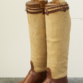 Antique Patch Long Boots