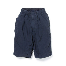 nonnative - DRIFTER EASY SHORTS COTTON 80 SQUARE CLOTH OVERDYED