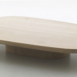Ronan & Erwan Bouroullec - Oak Low Table, Limited Edition 8 pieces, Kreo Gallery, Paris