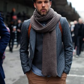 Layering with a suit and vest