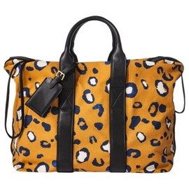 3.1 Phillip Lim for Target® - Canvas Drawstring Travel Bag - Orange Leopard