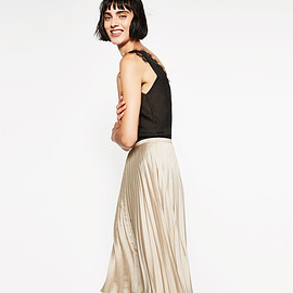 ZARA - Pleat Skirt