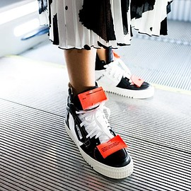 Off-White - Off-White c/o mytheresa.com Leather Sneakers