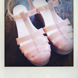 CHANEL - Jelly shoes