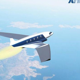 Canadian Industrial - Antipode private airplane