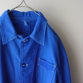 LILY1ST VINTAGE - 1960's greece military sleeping shirt coverall