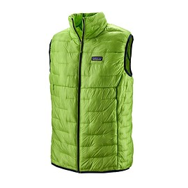 patagonia - M's Micro Puff® Vest, Peppergrass Green (PSS)