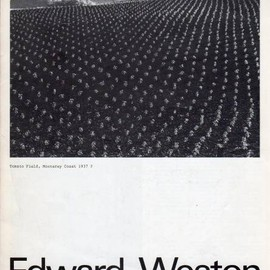 Stedelijk Museum - Edward Weston Exhibition Catalog, Designed by Wim Crouwel, Daphne Duijvelshoff