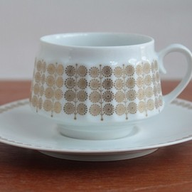 ARABIA - Pallas / Coffee Cup + Saucer