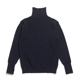 ANDERSEN-ANDERSEN - Sailor Turtle Neck Knit-Navy Blue