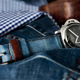 PANERAI - Stonewashed Blue jeans Special Edition on Panerai PAM233