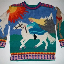 amarinalevin - Nine/Ten Year Horses Sweater
