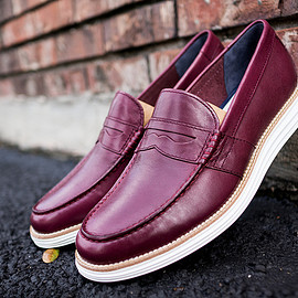 Cole Haan - Lunarground Penny Loafer Ox Blood