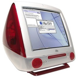 Apple - iMac G3 400mHz Indigo/ Red