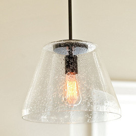 Ballard Designs - Kendall Seeded Glass Pendant