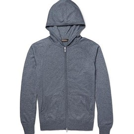 Loro Piana - Portland Silk and Cashmere-Blend Zip-Up Hoodie