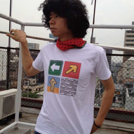 "T-SHIRTS AS MEDIA2012""Rockn' Arrow"" - DESIGN by 小田島等"