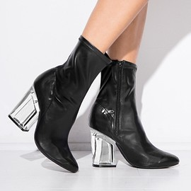 JEFFREY CAMPBELL - Leather Figment Boots