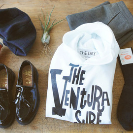THE DAY ON THE BEACH - VENTURA SURF HOODIE