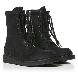 Rick Owens - Rick Owens Anfibio Boot in Black