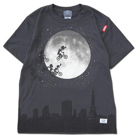 HEADGOONIE - OVER THE MOON! T-shirts(モノクロ)