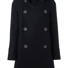The Reracs - double-breasted mid coat