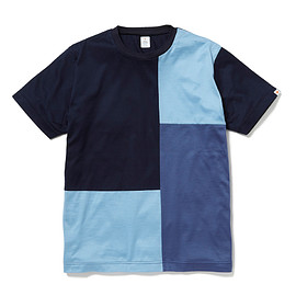 HEAD PORTER PLUS - PANEL TEE NAVY