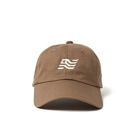 "nonnative - nonnative DWELLER 6P CAP ""FLAG"" COTTON TWILL"