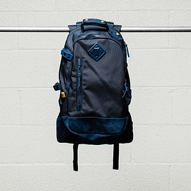 visvim - 2015 Fall/Winter 20L Ballistic Backpacks Featuring Cow Suede