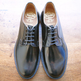 Burwood two-tone leather brogues