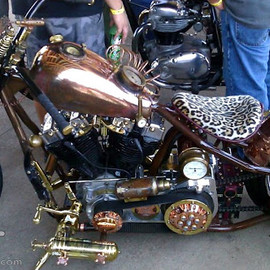 Copper Mike's Steampunk bike
