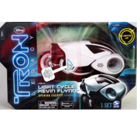 TRON LEGACY DX Vehicle Series 1 : LIGHT CYCLE: KEVIN FLYNN Opening Cockpit