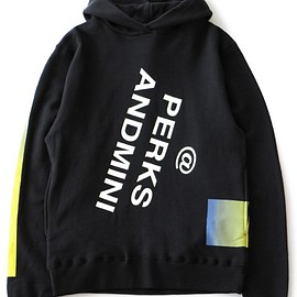 P.A.M. - Insta Message Hooded Sweat (black)