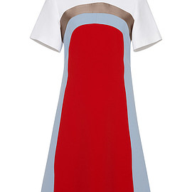Jonathan Saunders - FW2015 Colorblock Nico Dress