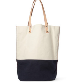 Levi's Made & Crafted - Two-Tone Canvas and Leather Tote Bag