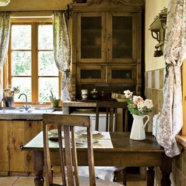 Country dream kitchen