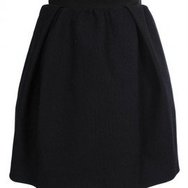 CARVEN - Structured linen skirt