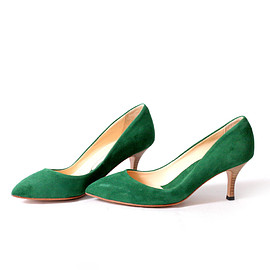 nutslly - Pointed french pumps Suede