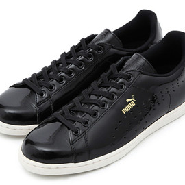 Puma - First Round Lo - Black Patent