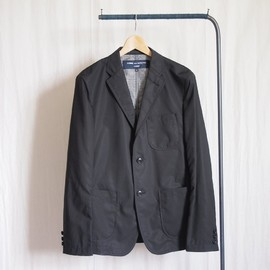 COMME des GARCONS HOMME - 綿タイプライタージャケット #black