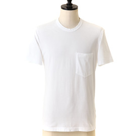 JAMES PERSE - POCKET TEE WITH GRINDING