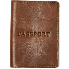 J.CREW - LEATHER PASSPORT CASE