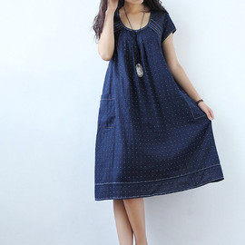 MaLieb - The taste of summer/ Cotton short sleeved dress